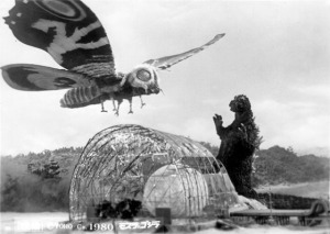 Royal Baby and Mothra