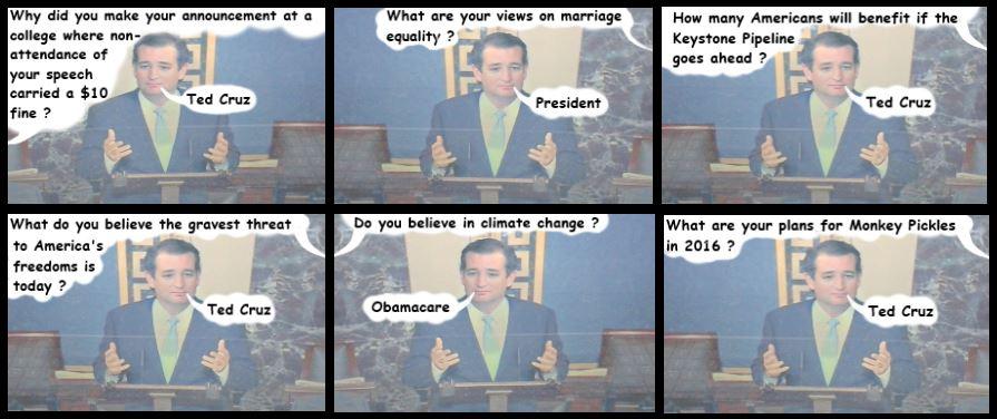 Ted Waits For Cruz Control