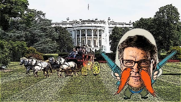 Wacky races white-house Perry
