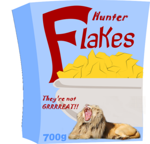 LION HUNTER FLAKES 2